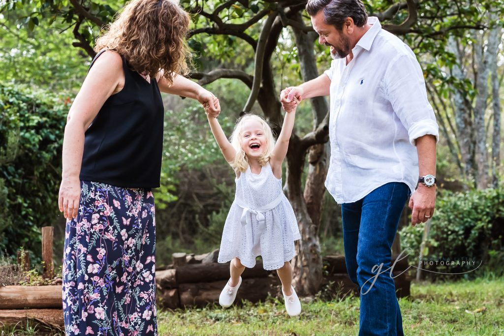Family Photoshoot - keeping patterns to a minimum