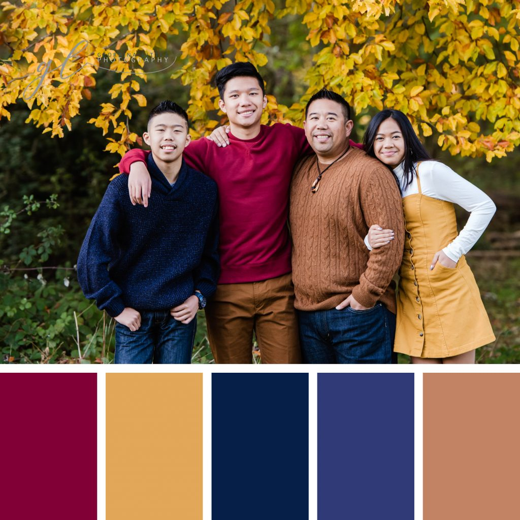 Family Photoshoot - Autumn Wardrobe Colours