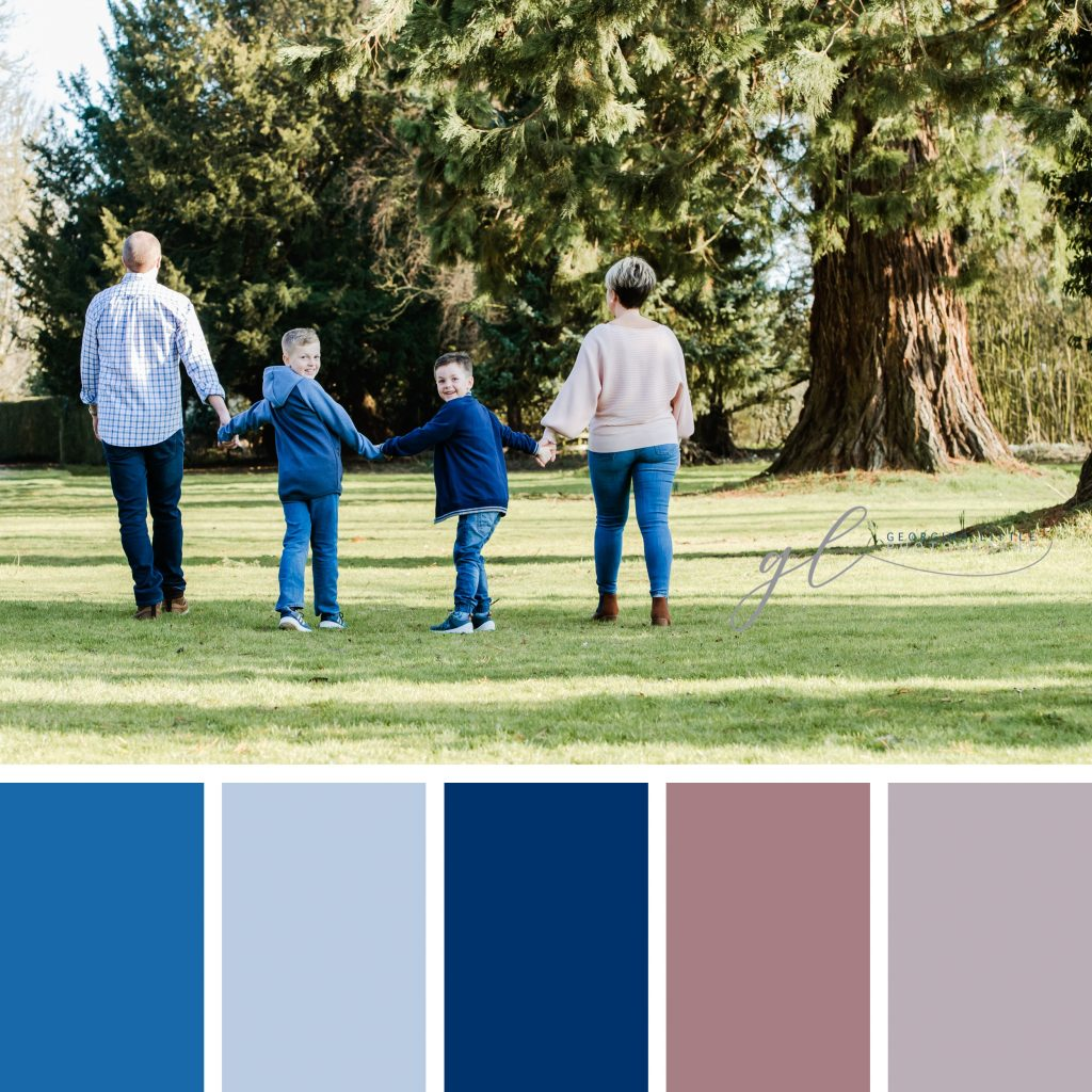 Family Photoshoot - Spring Wardrobe Colours