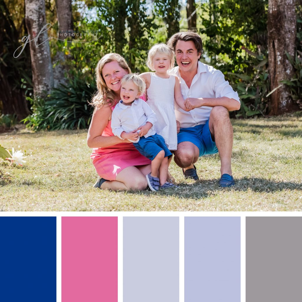 Family Photoshoot - Summer Wardrobe Colours