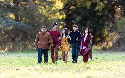 Autumn Family Photoshoot in Suffolk