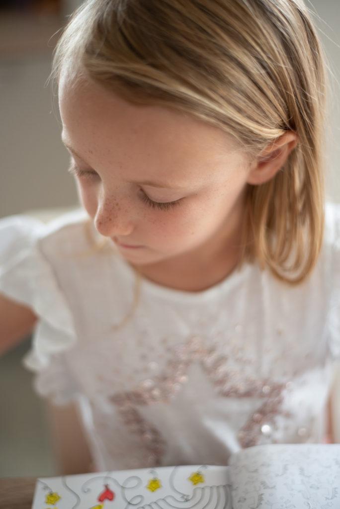 Light for child portrait